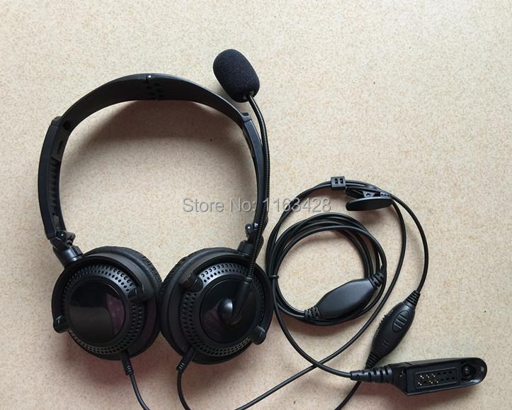 10pcs High Quality Earpiece Earphone Headset MicMicrophone for Walkie Talkie Motorola GP328 GP320 GP340 GP640 CB Two Way Radio(China (Mainland))