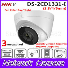 Buy Free 2017 New Arrival HiK 3.0 MP CMOS Network Turret Camera DS-2CD1331-I replace DS-2CD2335-IHD CCTV IP Camera IP 67 for $75.00 in AliExpress store