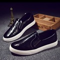 MIVNSKVE size 39 44 casual men shoes slip on genuine leather men loafers luxury brand male
