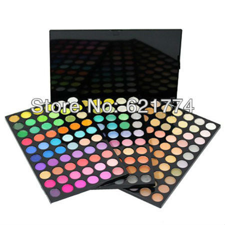 Hot Selling 180 Shine Color 3 Layer Makeup Eyeshadow Cosmetic Eye Shadow Make Up Palette Kit Free Shipping