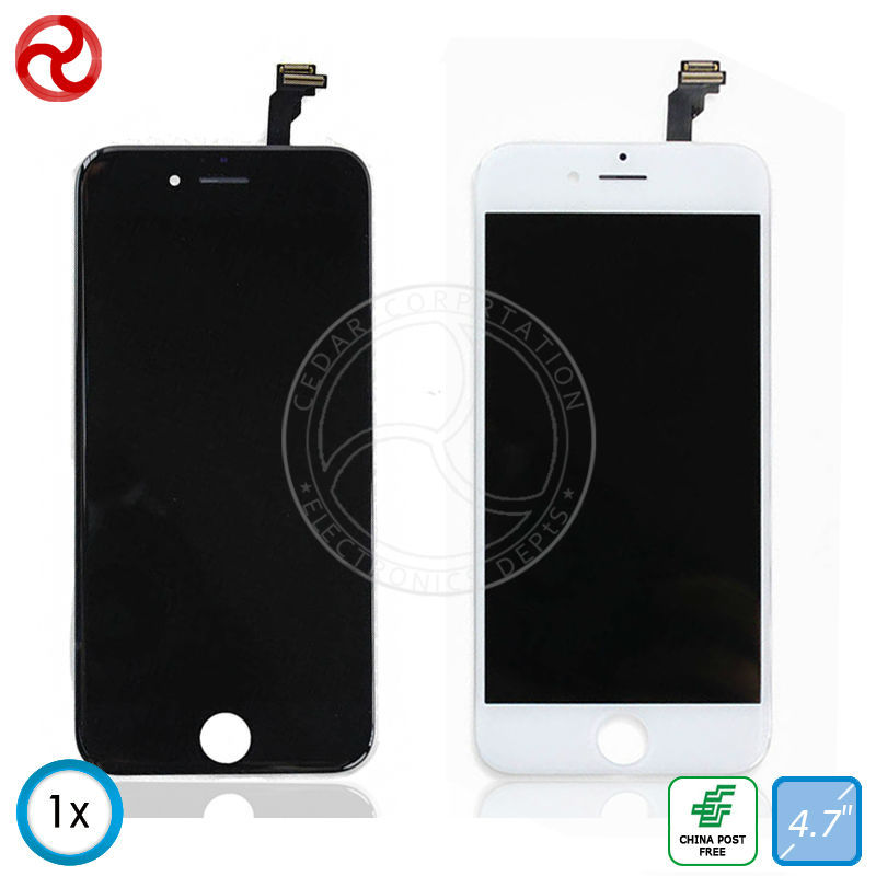 """For iPhone 6 / 6G LCD Screen Display With Touch Screen Digitizer Assembly / For iPhone 6 LCD 4.7"""" Black / White + Tools"""