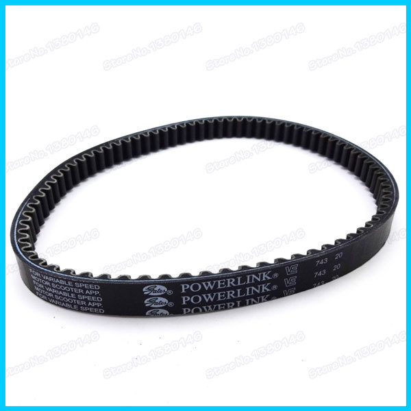 New Moped Scooter 743 20 30 CVT Drive Belt Powerlink For GY6 125 150cc Moped ATV Quads Motorcycles