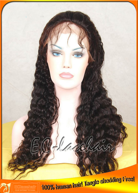 Free Shipping indian hair or remy hair,no tangle,no shedding wholesale lace wigs wholesale