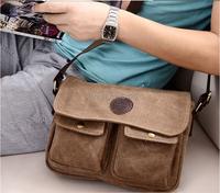 2015 New High Quality Multifunction Men Canvas Bag Casual Travel Bolsa Masculina Men's Crossbody Shoulder Bag Men Messenger Bags