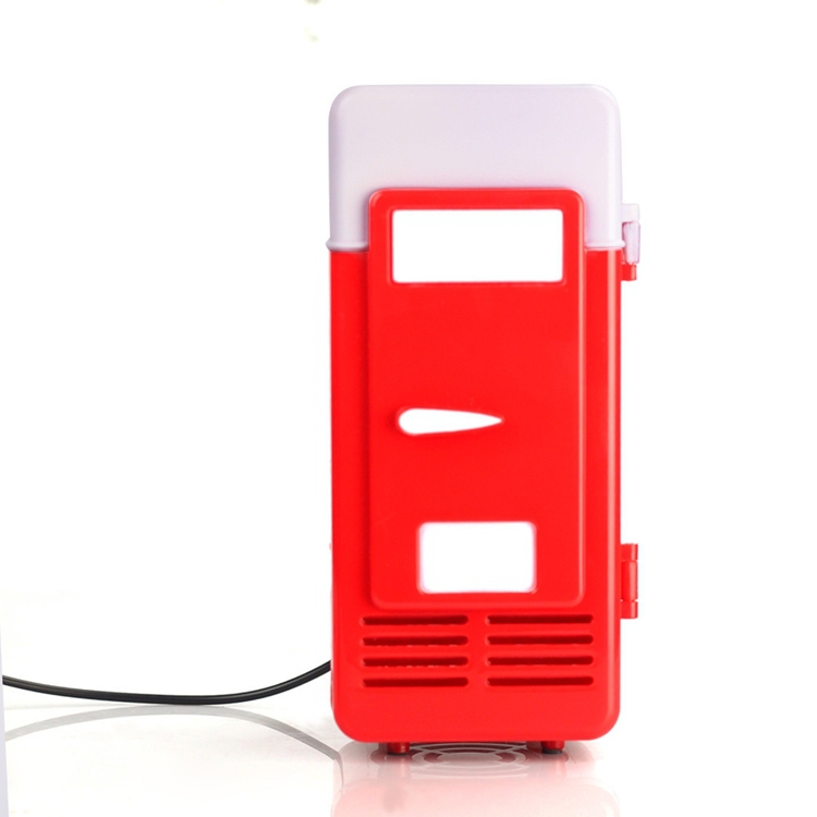 Hot Sale USB Car Fridge Freezer Refrigerator Beverage Drink Cans Warmer Cooler System Free Shipping(China (Mainland))