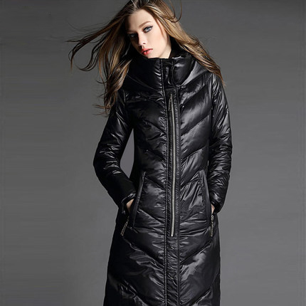 Down Long Winter Coat - Coat Nj