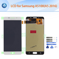 Original LCD for Samsung Galaxy A5100 A5 2016 LCD display touch screen digitizer assembly black white
