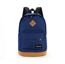 New 2015 men's backpacks fashion women canvas backpacks mochila rucksack leisure schoolbags casual unisex shoulder bags hot sale(China (Mainland))