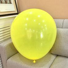 Черный Круглые латексные шары 36 дюйм(ов) ов) Свадебные украшения гелий большой гигантские шары День рождения Декор надувной воздушный шар(China)