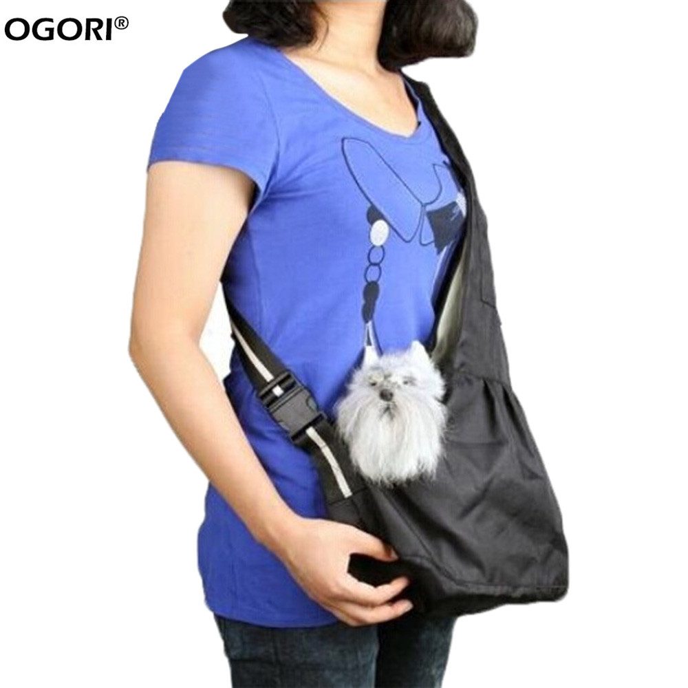 Fashion Oxford Cloth Pet Dog Carrier Bag Portable Sling Warm Winter Dog Front Chest Carrier Outdoor Cat Dog Single Shoulder Bag(China (Mainland))