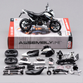 KWSK ZX10R Ninja Black 1:12 scale models Alloy motorcycle racing model motorcycle model Toy For Gift Collection