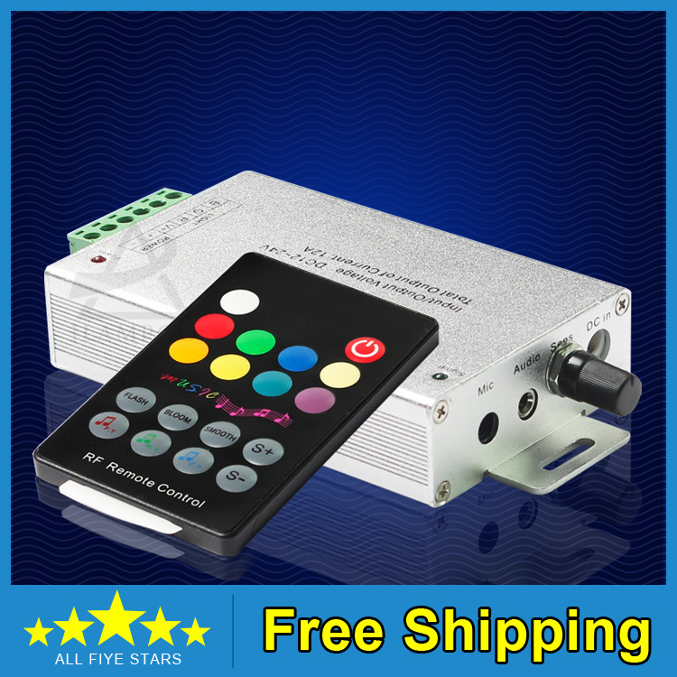 New Hot RF 18 Key Music Controller Remote 5050 3528 RGB LED Strip DC12~24V - Shenzhen LSD Technology Go.,Ltd. store