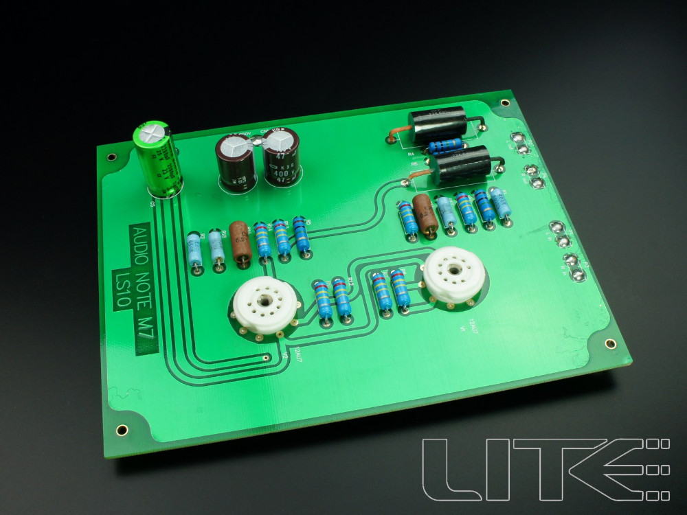 LITE LS10 tube preamp board Audio Note M7 circuit(China (Mainland))
