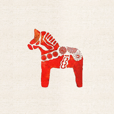 20x20cm Horse Digital Printing Painting Hand Dyed Fabric DIY Sewing Patchwork Cloth Scrapbooking for Purse Bag 071423(China (Mainland))
