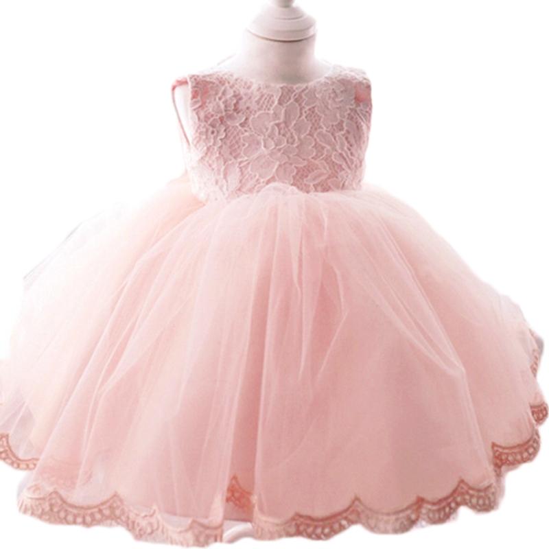 2015 девочки крещение платье принцесса свадебное кружевное платье туту новорожденных девочек малышей малыша платья для девочек vestidos infantis