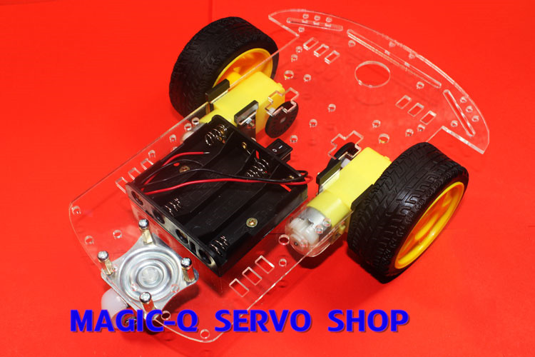 magic-Q/Smart car chassis /2 wheels /tracing/obstacle avoidance/ZK- 2 wd/speed/smart Car Chassis Kits(China (Mainland))