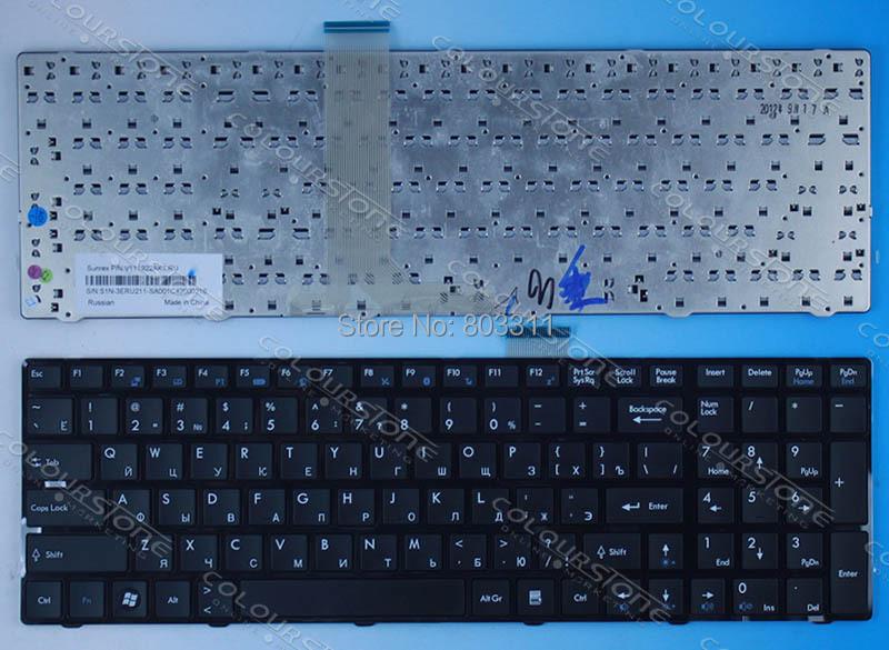 orignal RUSSIA Laptop keyboard MSI A6200 CR620 CX705 S6000 RU BLACK V111922AK1 - Joy Shopping store