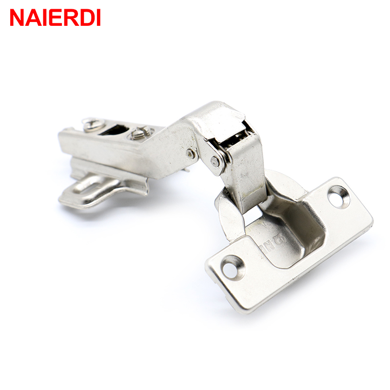 NAIERDI 45 Degree Corner Fold Cabinet Door Hinges 45 Angle Hinge Hardware For Home Kitchen Bathroom Cupboard With Screws(China (Mainland))