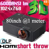 Проектор Neue 5500 1280 x 800 heimkino hdmi lcd 1080p full/hd uc40 holographischen overheadprojektor