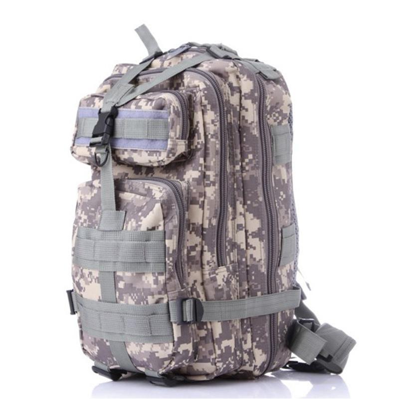 Men Women Military Army Backpack Trekking Camouflage rucksacksblack sac a dos casual ACU Green Black rugzak german french bag(China (Mainland))