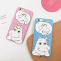 Lovely Moomin Case For iPhone 6 6s Plus 4 7 5 5 inch Cute Cartoon Phone