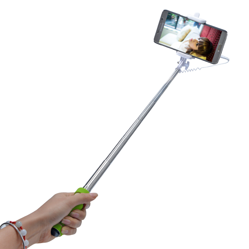 handheld extendable selfie stick for android samsung iphone monopod mini self pole tripod. Black Bedroom Furniture Sets. Home Design Ideas