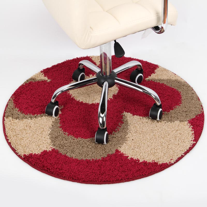DMF Round Mats Computer Cushion Chair Carpet For Living Room Floor Mat Top Quality Alfombra Goma Eva Puzzle Dining Room Mats(China (Mainland))