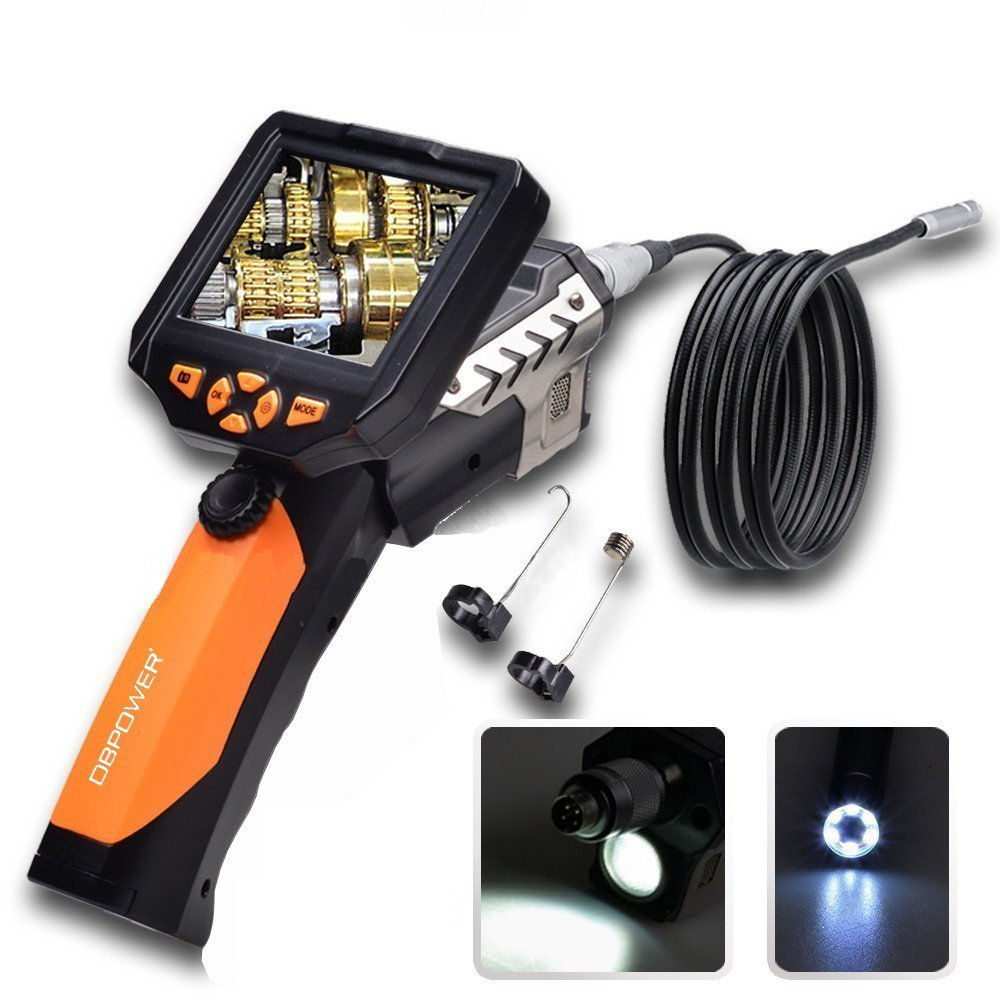 buy dbpower endoscope nts200 inspection. Black Bedroom Furniture Sets. Home Design Ideas