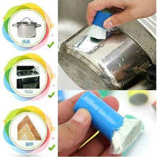1191 stainless steel magic stick metal cleaning wipe pot ferroxyl 2pc/lot  85g
