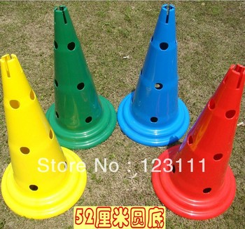 52cm Soccer Football Cross Dog Training Cones Track Sport Field Marking Cones Speed basketball,baseball,skating,skateboard