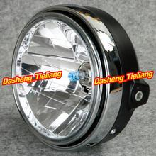 Chrome Halogen Headlight Lamp For Honda CB400 CB500 CB1300 Hornet 250/ 600 / 900 VTEC VTR 250(China (Mainland))