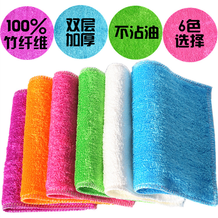 Kitchen cloths absorbent, lint-free cloth dish towel nonstick thick linoleum floor wiping tablecloths(China (Mainland))