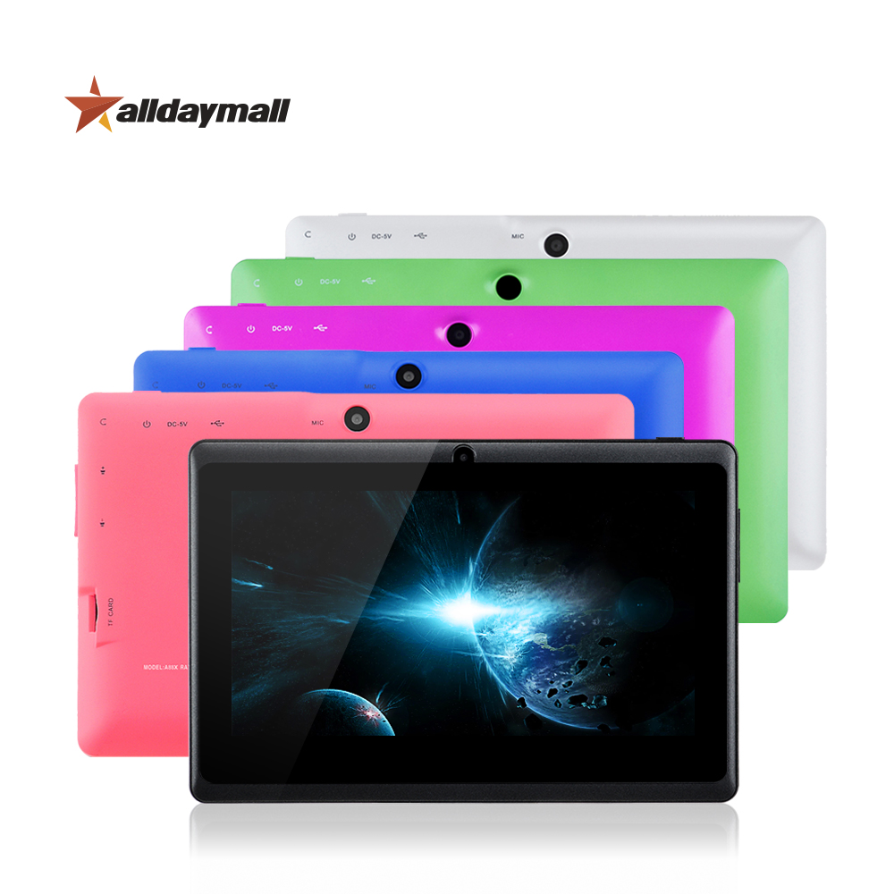Alldaymall Android Tablet 7 Inch Android 4.4.2 Tablet pc Allwinner A33 Quad Core 8GB ROM Tablette 7 Pouces OTG TF Card Tablets(China (Mainland))