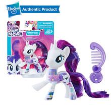Hasbro My Little Pony Friends 3-Polegada Rainbow Dash Pinkie Pie Fluttershy Raridade Lyra Heartstring Action Figure Toy Collectible(China)
