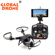 Global Drone 100% Original 2.4G 4CH 6 Axis Remote Control RC Helicopter RC Quad-copter Drone Ar.Drone With HD Camera VS syma x5c