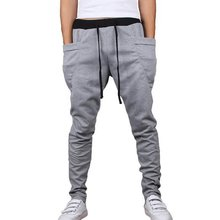 Spring Autumn Sport Men Pants 2015 Fashion Brand joggers Sweatpants Casual Pants mans joggers pants Plus Size sweatpants