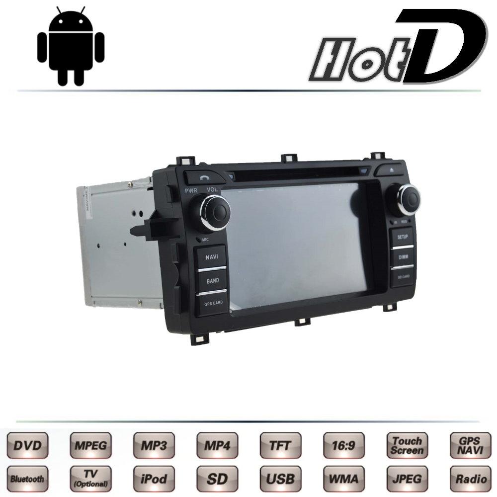 For TOYOTA Auris Corolla iM Hatchback For Scion iM E180 Car Multimedia TV DVD GPS Radio Original Style Navigation Android Navi(China (Mainland))