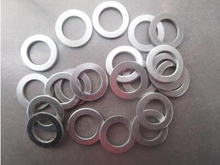 200pcs/ lot High Quality 7*15*1mm aluminum flat washer   7mm  Aluminum sealing ring m7*15