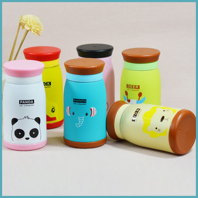 Cartoon Thermoses Mug Cup stainless steel Child Vacuum Flasks Student Thermal Lid Kettle Children Gifts Thermos Bottle - Sunny Sisters store