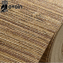Bedroom wrinkled wall paper braid wallcovering plain straw wallpaper modern vinyl flaxen grass cloth wallpaper roll decorative(China (Mainland))