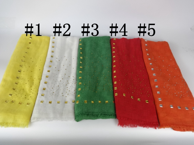 Drill Tassels Plain Soft Color Glitter Cotton Long Shawls And Scarves Head Wraps Muslim Hijab Women Scarves(China (Mainland))