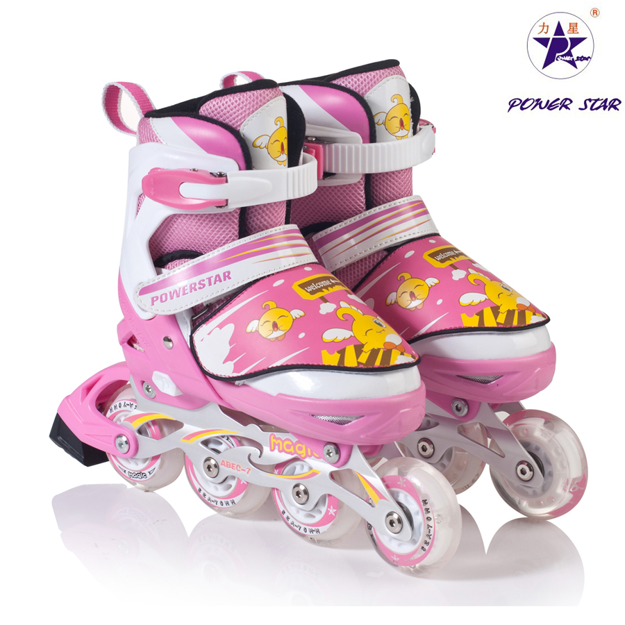 Mark Card Roller Skates Children Shoes Adjustable Flash In-Line Skating Men Women LX-862 - Hangzhou Yao Chen electronic commerce co., LTD store