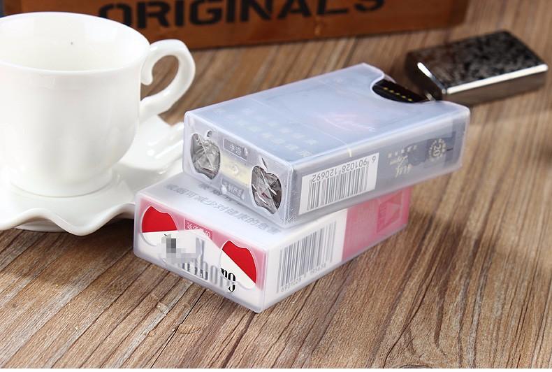 ถูก อิเล็กทรอนิกส์เบาอุปกรณ์การสูบบุหรี่กับUSBชาร์จมีดเบา,บรรจุในกรณีบุหรี่
