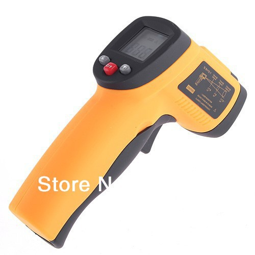 2014 LCD Thermometer Non-Contact IR Laser Point Infrared Digital Temp Gun - Shenzhen auto parts co., LTD store