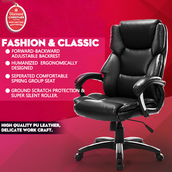 Brand Quality Leather Bungee Excutive Office cadeira computer Gaming Chair 360 free rotating armrest backrest furniture(China (Mainland))