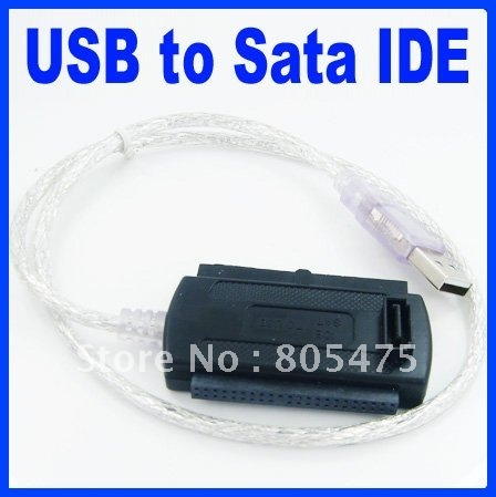 USB 2.0 to IDE SATA S-ATA/2.5/3.5 Adapter Cable 440