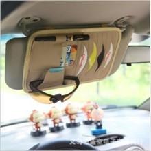 New 8pcs Disks Car CD Holder Auto Visor DVD Disk Card Case Clipper Bag Car CD Bags Cases Free shipping(China (Mainland))
