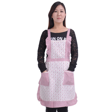NEW Women LADIES Pretty Sexy Cooking apron FLORAL Vintage Party COOKING Kitchen apron dress A-0450(China (Mainland))