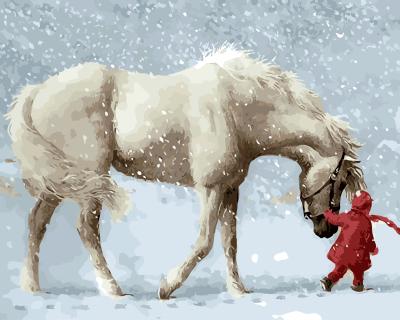 online kaufen gro handel gemalt pferd bilder aus china gemalt pferd bilder gro h ndler. Black Bedroom Furniture Sets. Home Design Ideas