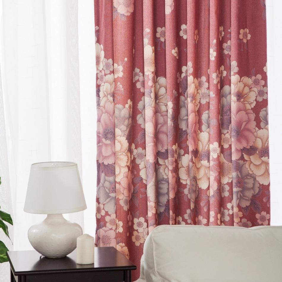 cerise rouge rideaux promotion achetez des cerise rouge rideaux promotionnels sur. Black Bedroom Furniture Sets. Home Design Ideas